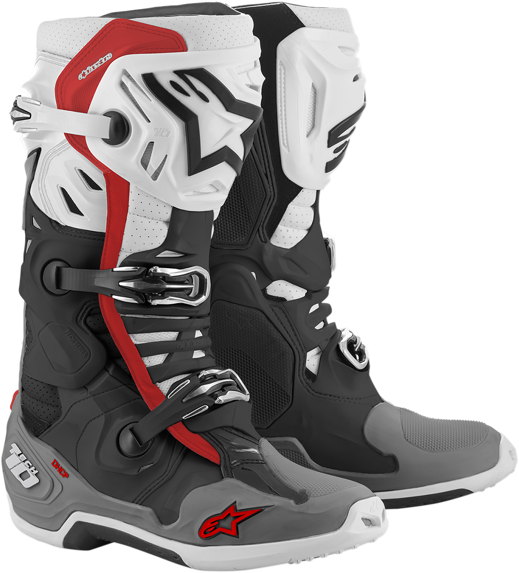 Alpinestars Tech 10 Supervented Mens Offroad Riding Dirt Bike MX Racing Boots