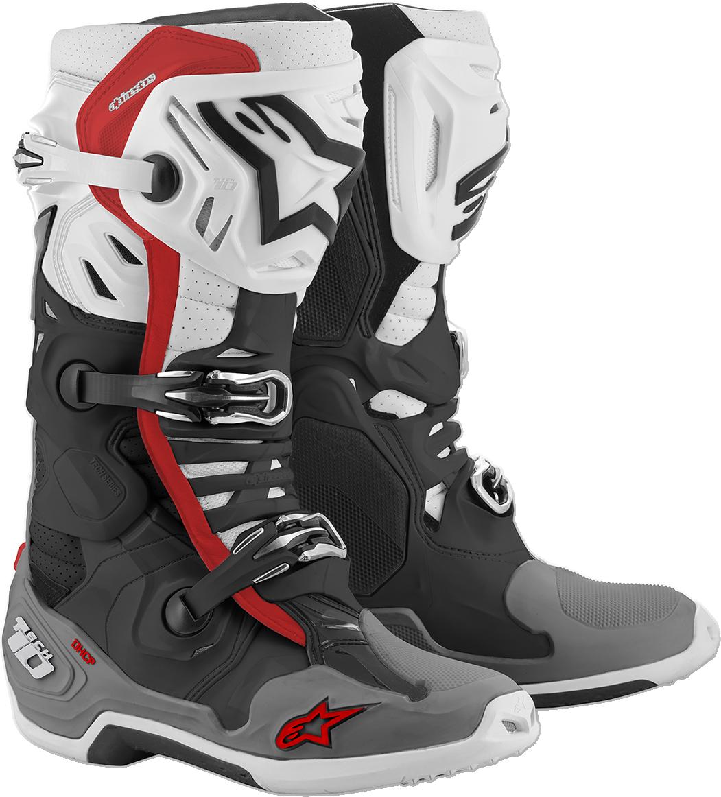 Alpinestars Tech 10 Supervented Mens Offroad Riding Dirt Bike MX Racing Boots