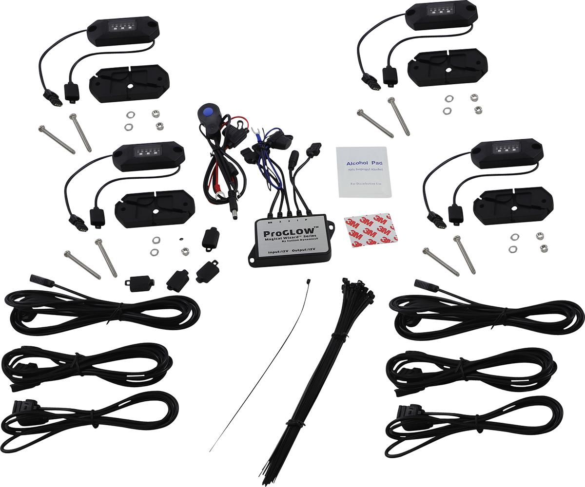 Custom Dynamics Magical Wizards Rock Light Kit ATV UTV Off Road Side by Side