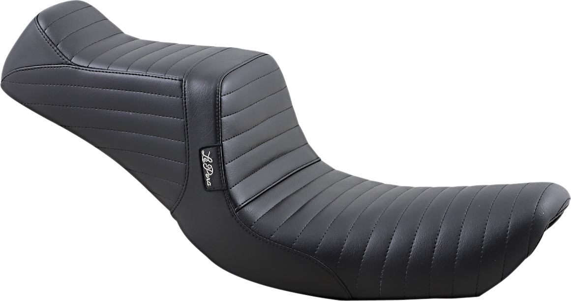 Le Pera Tailwhip Pleated 2 Up Motorcycle Seat 96-03 Dyna Softail Touring XL FXDX
