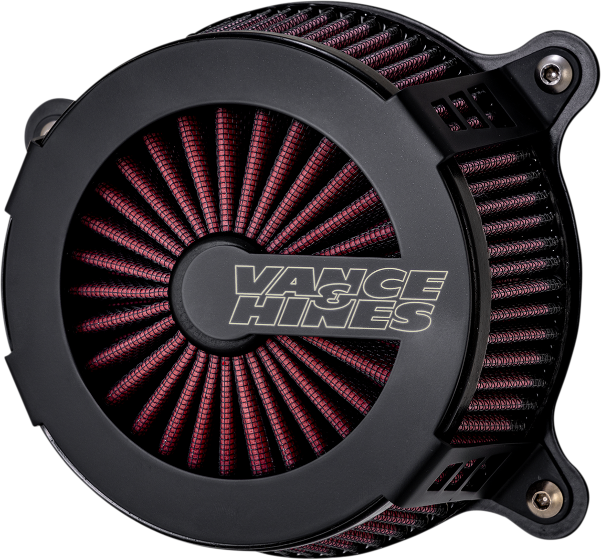 Vance & Hines VO2 Cage Fighter Air Cleaner Kit 08-16 Harley Touring FLHX FLHR