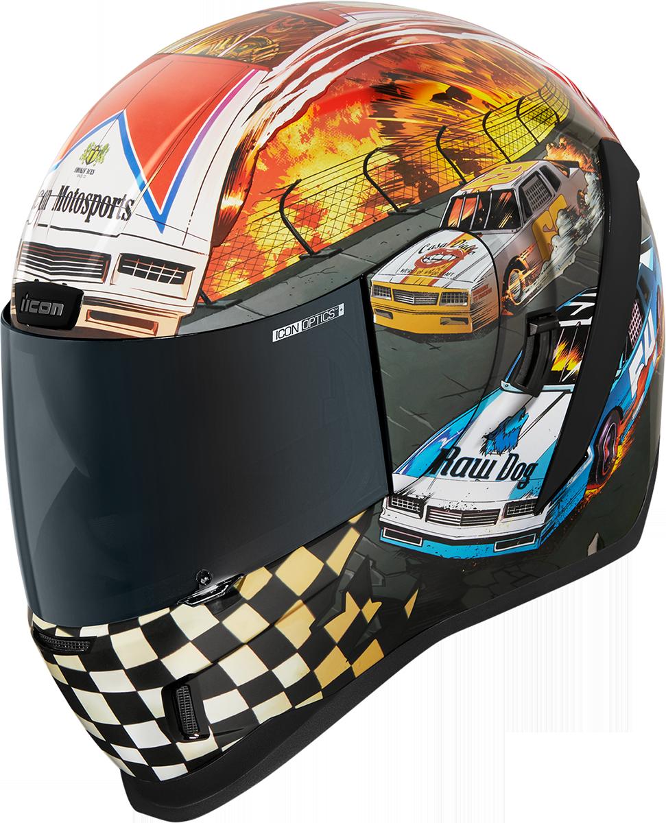 Icon Airform Stroker Unisex Fullface Motorcycle Riding Street Racing Helmet