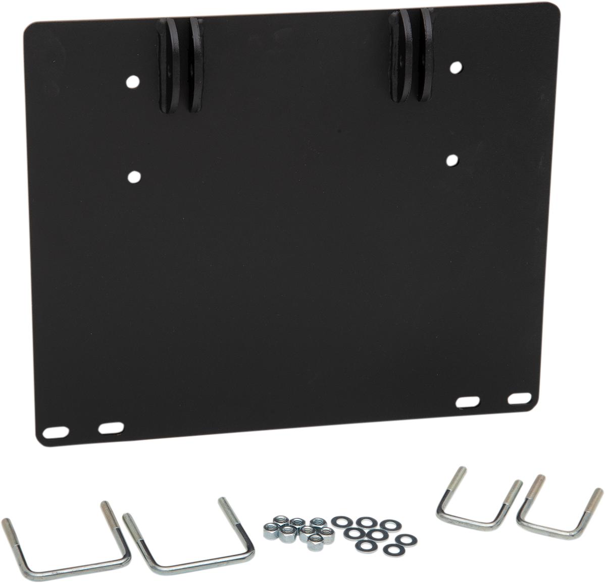 Moose Utility UTV Black Steel Snow Plow Mounting Plate 2020 Honda Pioneer 500