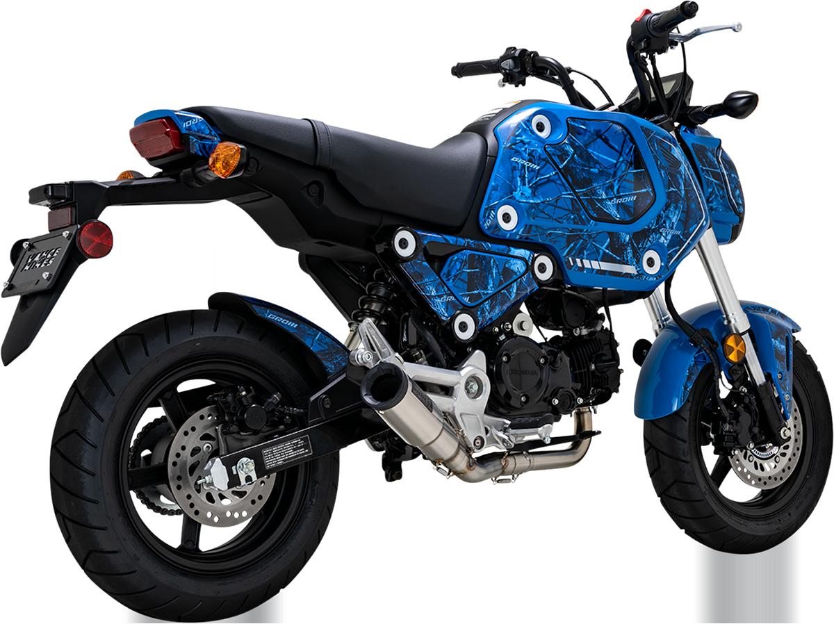 Vance & Hines Hi Output Hooligan Brushed Exhaust 2022 Honda Grom MSX125 ABS