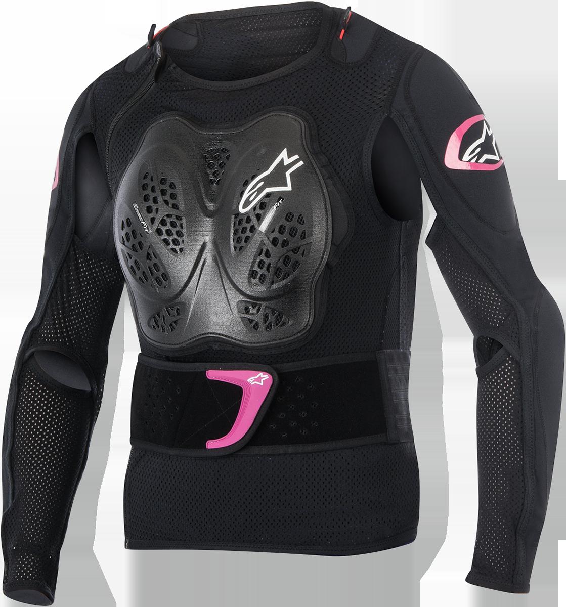 Alpinestars Pink Black Stella Bionic Womens Armored Motorcycle Riding Jacket
