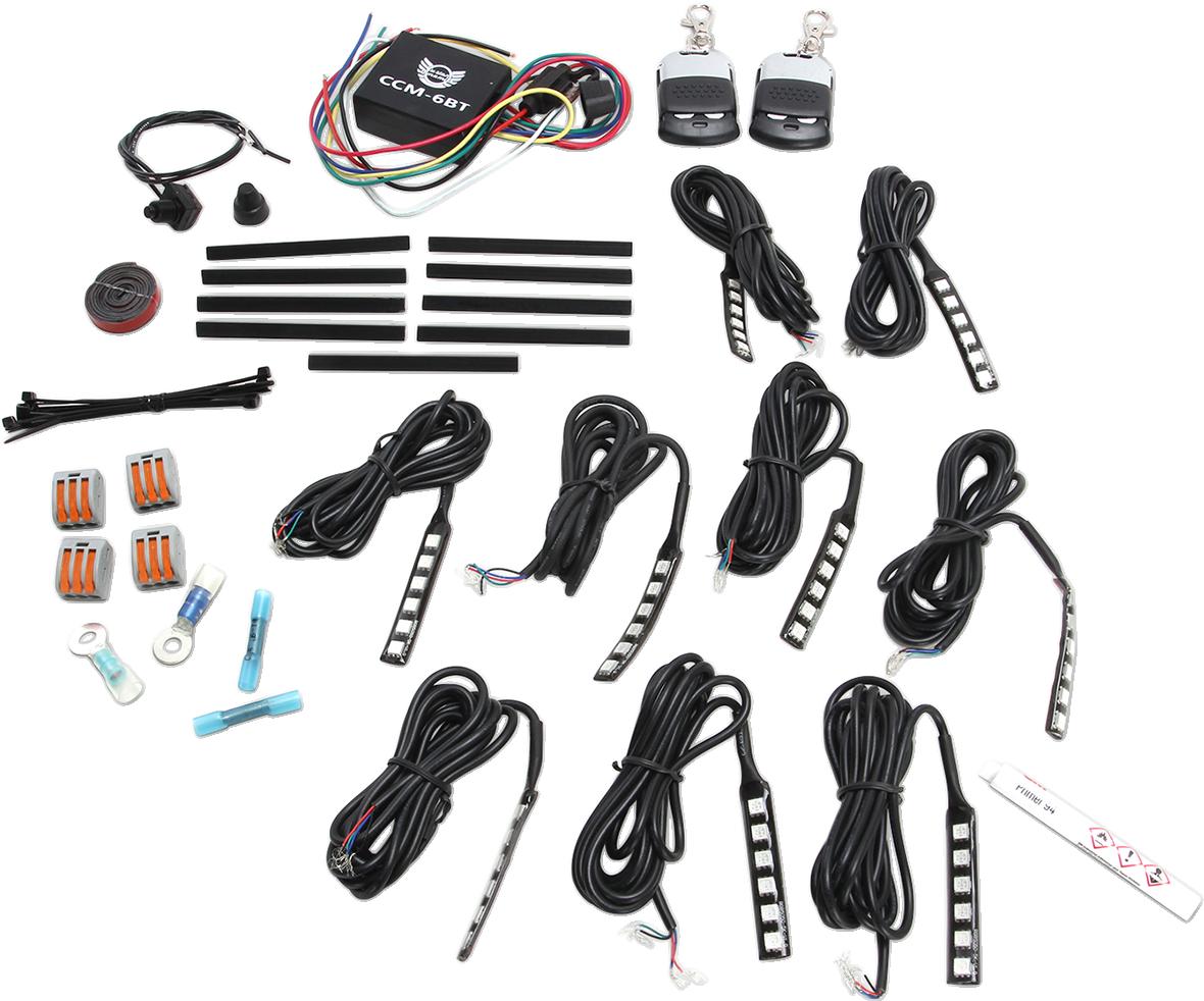 Custom Dynamics Magical Wizards Sport Bike LED Accent Lighting Kit Honda Yamaha