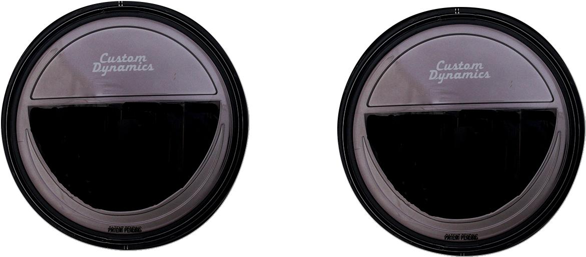 "Custom Dynamics Truebeam 4.5"" LED Driving Spotlights 2005-2021 Harley Touring"