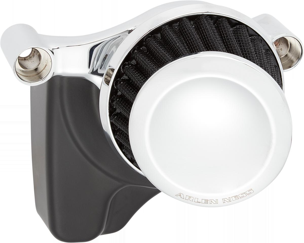 Arlen Ness Mini 22 Degree Chrome Air Filter Kit 99-17 Harley Touring Softail