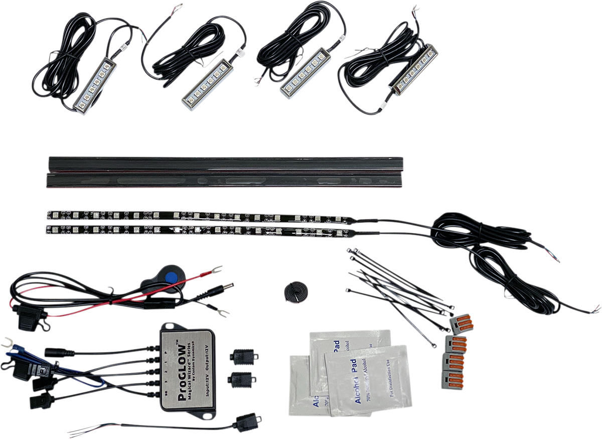 Custom Dynamics Magical Wizards Motorcycle Engine Light Kit for Harley Davidson
