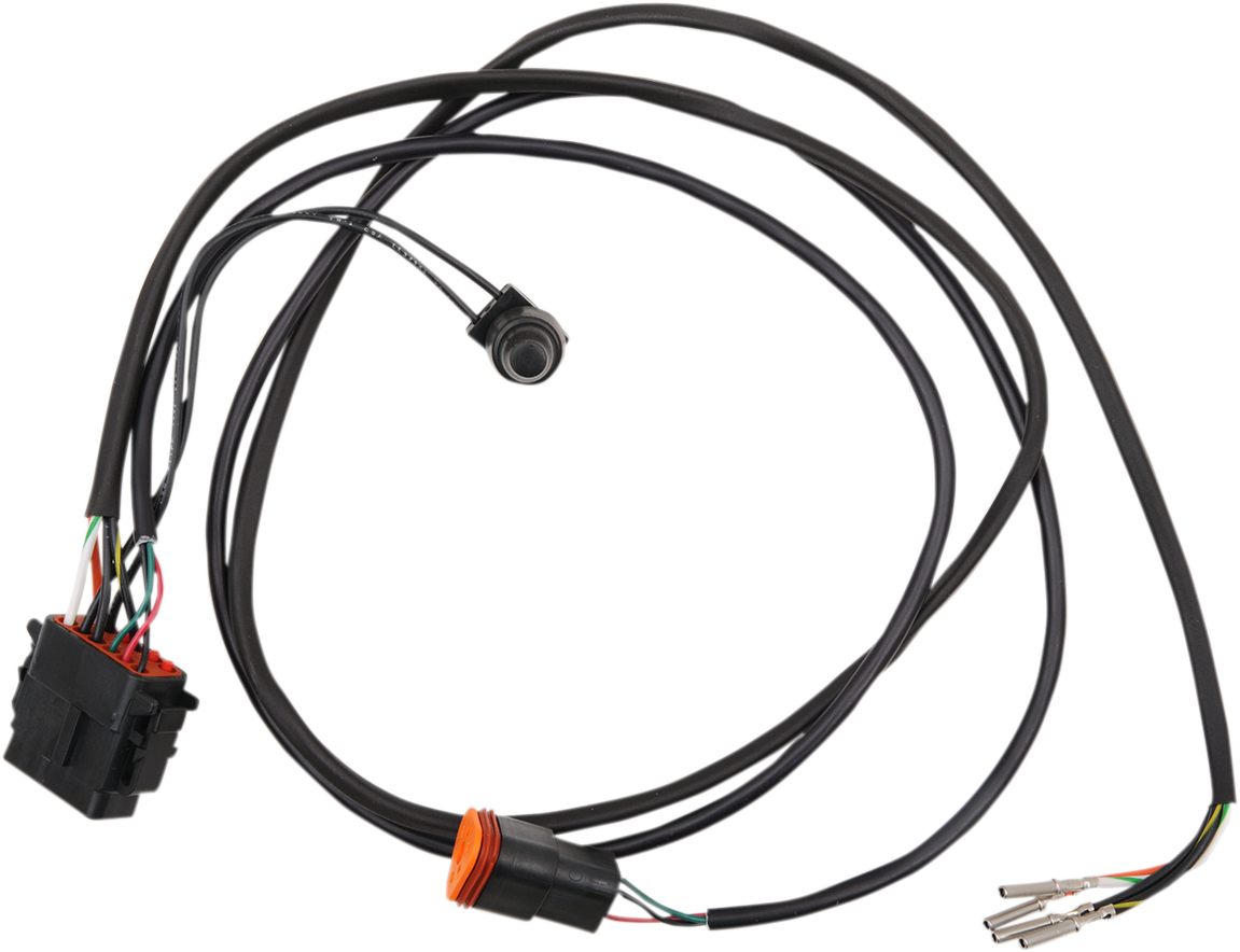 Drag Specialties Electronic Speedo & Tach Wiring Harness 96-97 Harley FLHR