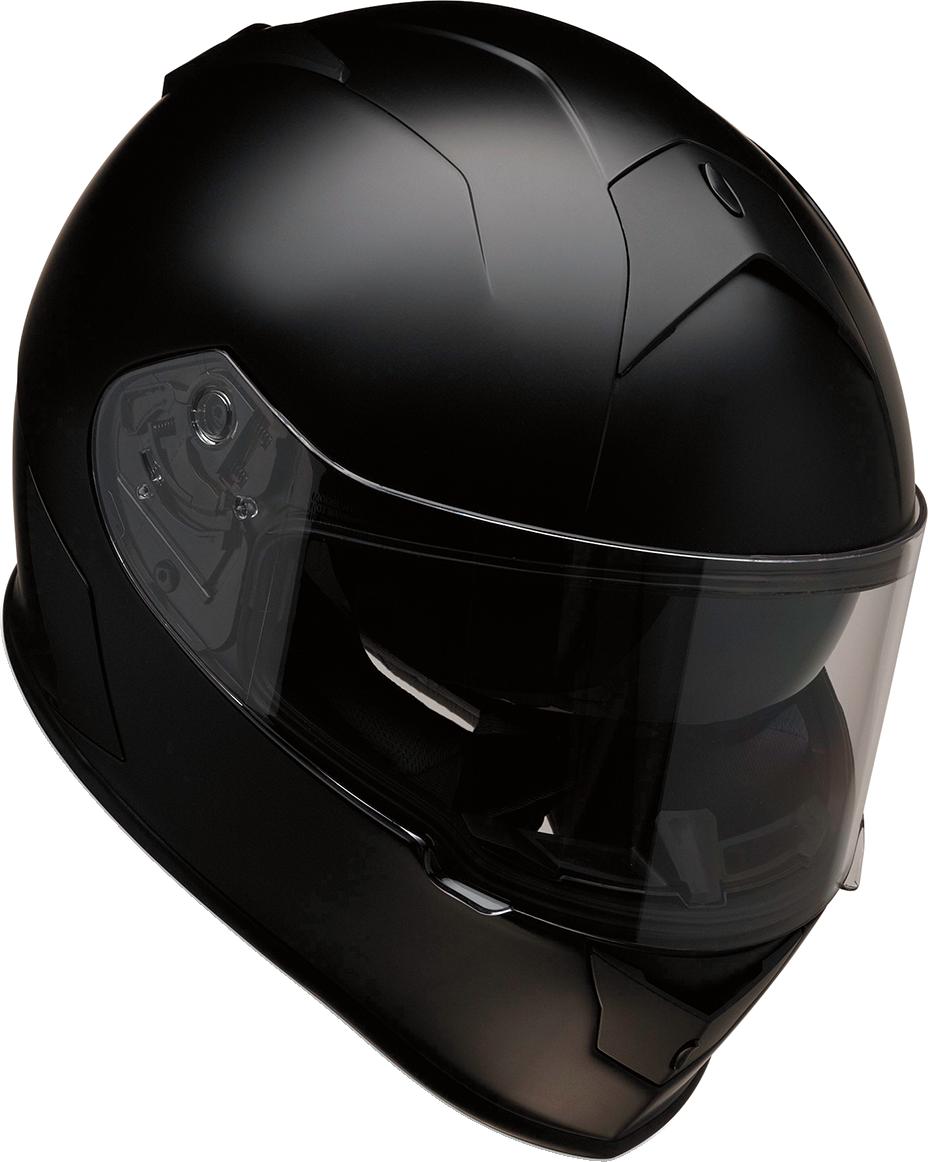 Z1R Warrant Unisex Flat Black Full Face Motorcycle Riding Street Racing Helmet