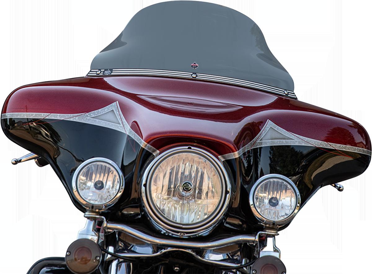 Klock Werks Flare 10.5 Tint Motorcycle Windshield 1996-2013 Harley Touring FLHX
