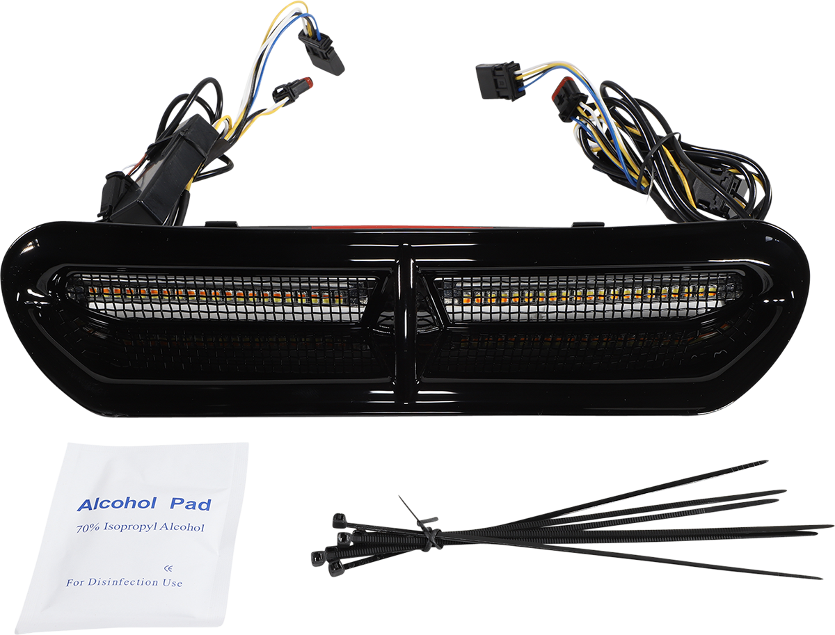 Custom Dynamics Genesis 4 LED Batwing Fairing Vent 14-21 Harley Touring FLHX