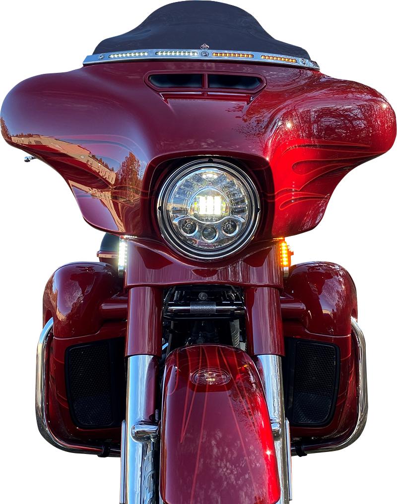 Custom Dynamics ProBeam Dynamic Turn Signal Strips 1996-2021 Harley Touring FLHR