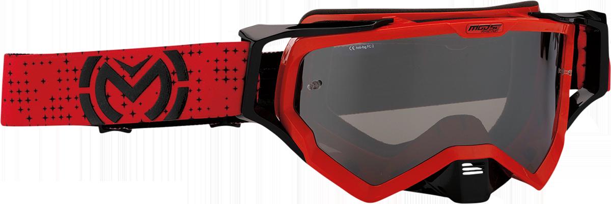 Moose Racing XCR Pro Stars Unisex ATV MX Dirt Bike Riding Motocross Goggles