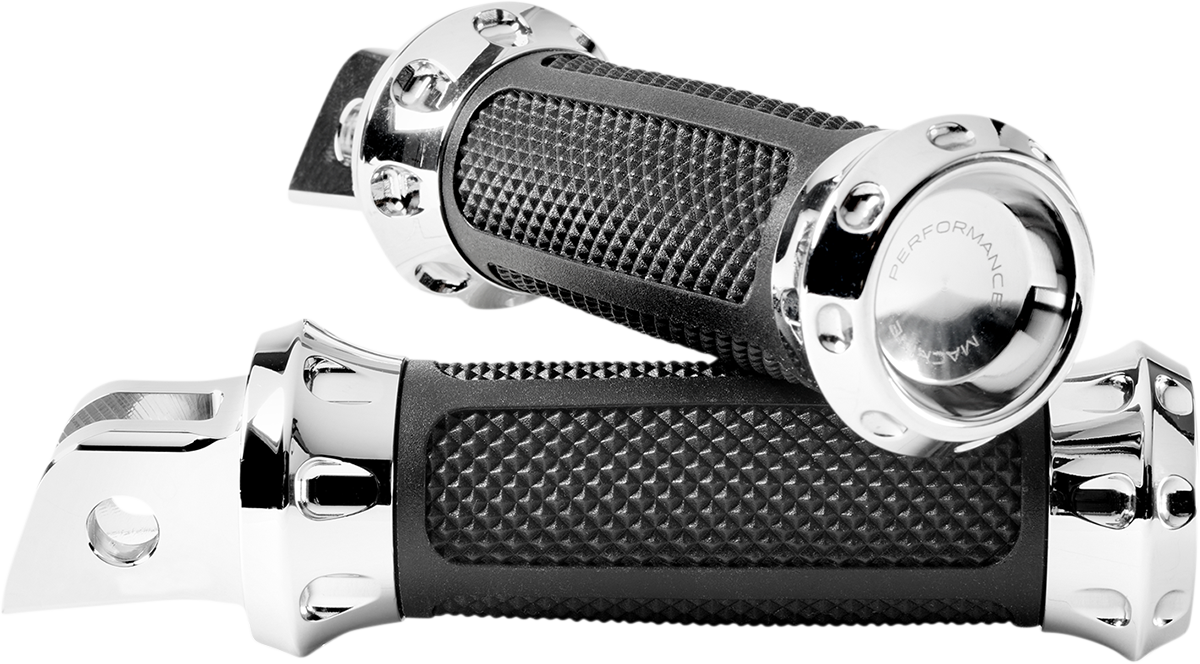 Performance Machine Over Drive Driver Foot Pegs 2018-2020 Harley Softail FLFB