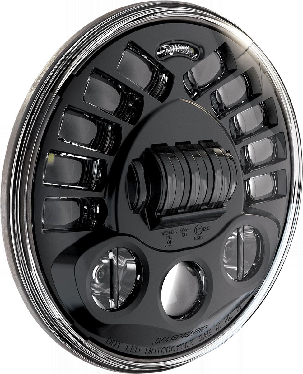 Custom Dynamics ProBEAM 5.75 Black LED Adaptive Headlight 57-21 Harley Sportster