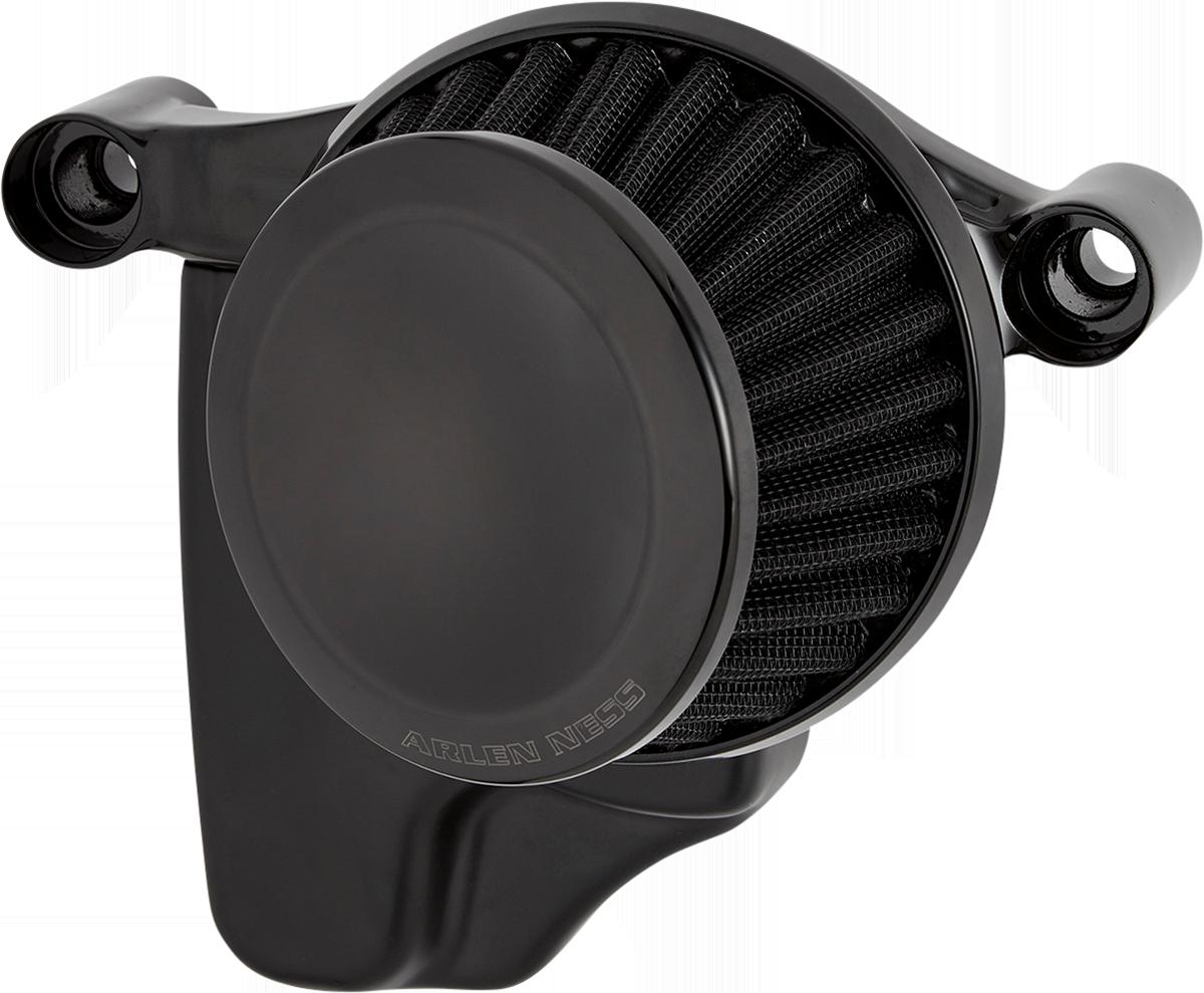 Arlen Ness Mini 22 Degree Black Air Filter Kit 99-17 Harley Dyna Touring Softail