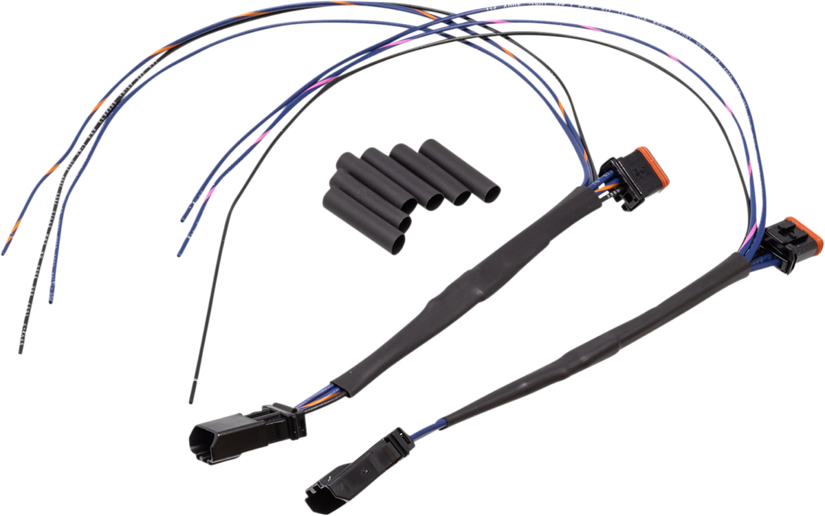 Namz Front Turn Signal Tap Harness 2014-2020 Harley Softail Touring FXST FLHX