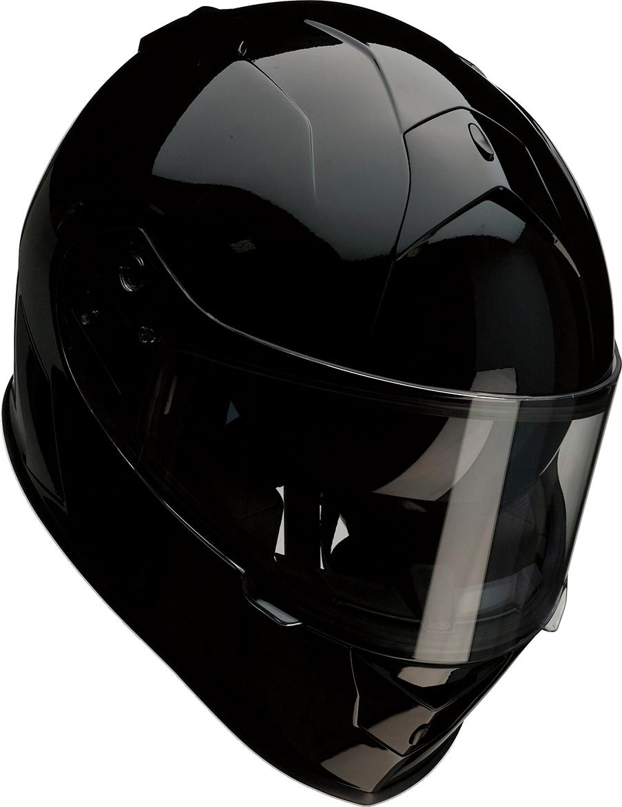 Z1R Warrant Unisex Black Full Face Motorcycle Riding Street Racing Helmet