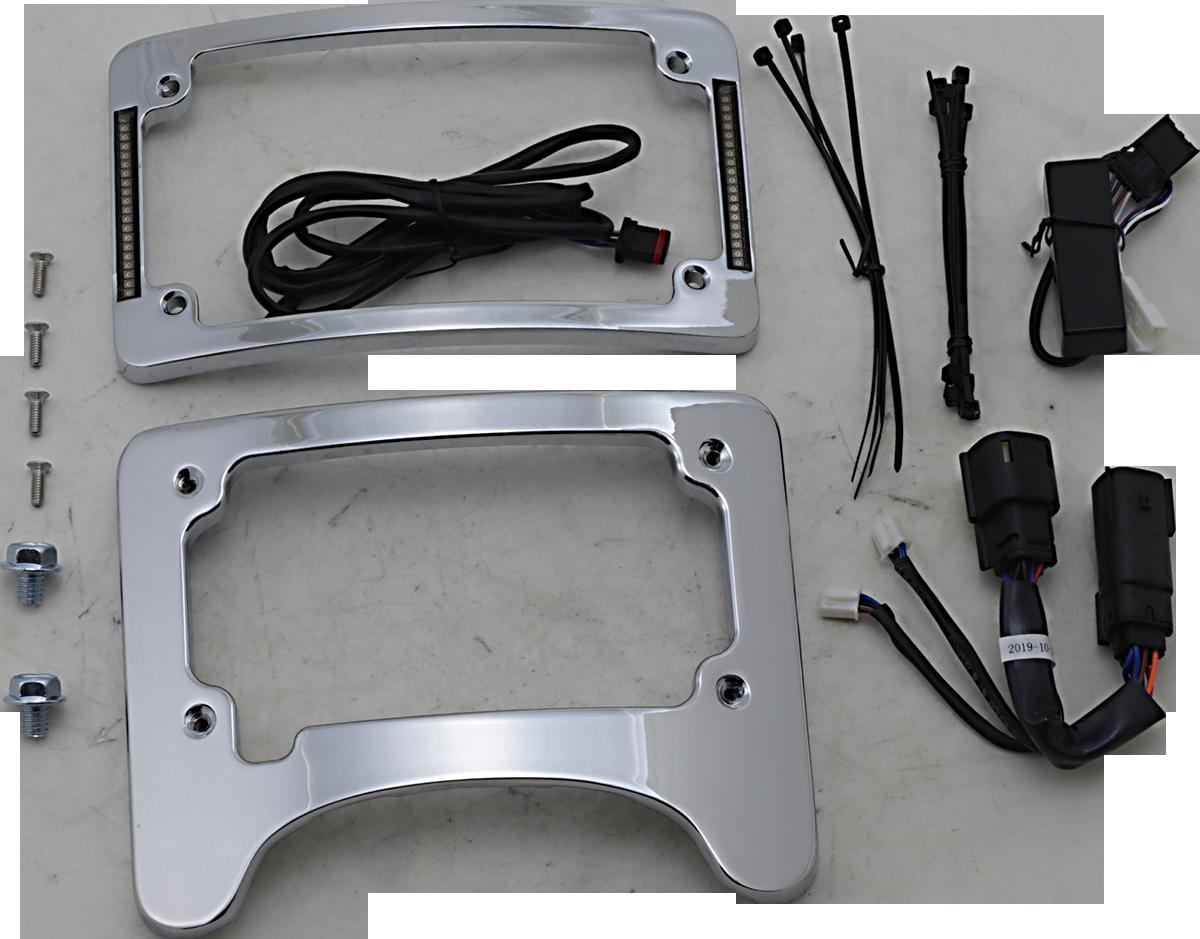 Custom Dynamics Rear LED Turn Signal Eliminator Kit 14-21 Harley Touring FLHX