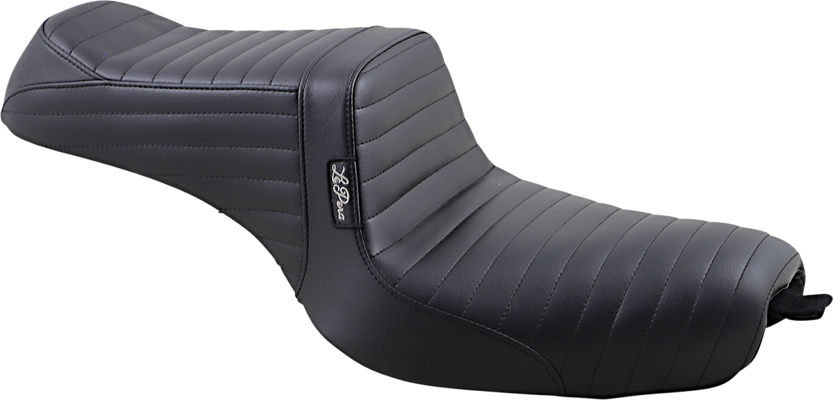 Le Pera Tailwhip Pleated 2 up Motorcycle Seat 10-20 Harley Sportster XLC XLNS