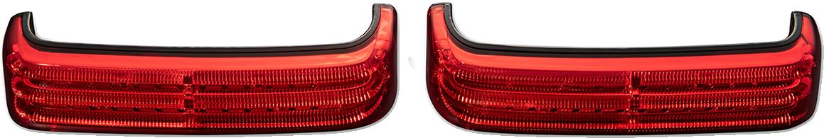 Custom Dynamics Bagz Sequential Saddlebag Lights 2014-2021 Harley Touring FLHX
