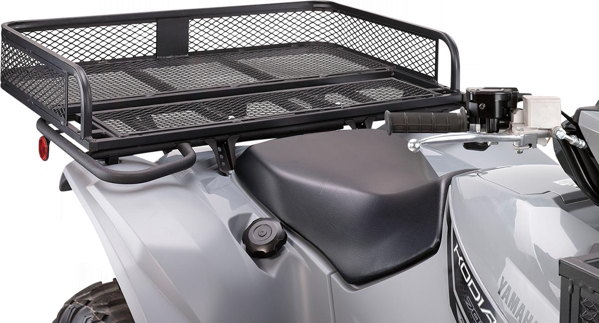 Moose Utility AVT Universal Rear Black Mesh Luggage Storage Rack Polaris Honda