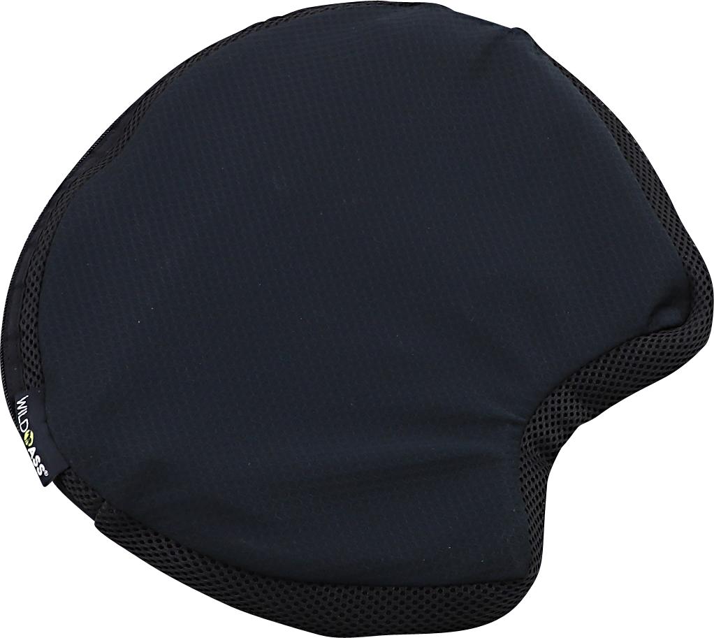 Wild Ass Black Saddle Classic Universal Motorcycle Drive passenger Seat Cushion