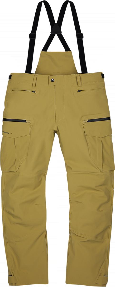 Icon Stormhawk Mens Textile Tan Motorcycle Riding Street Racing Pants