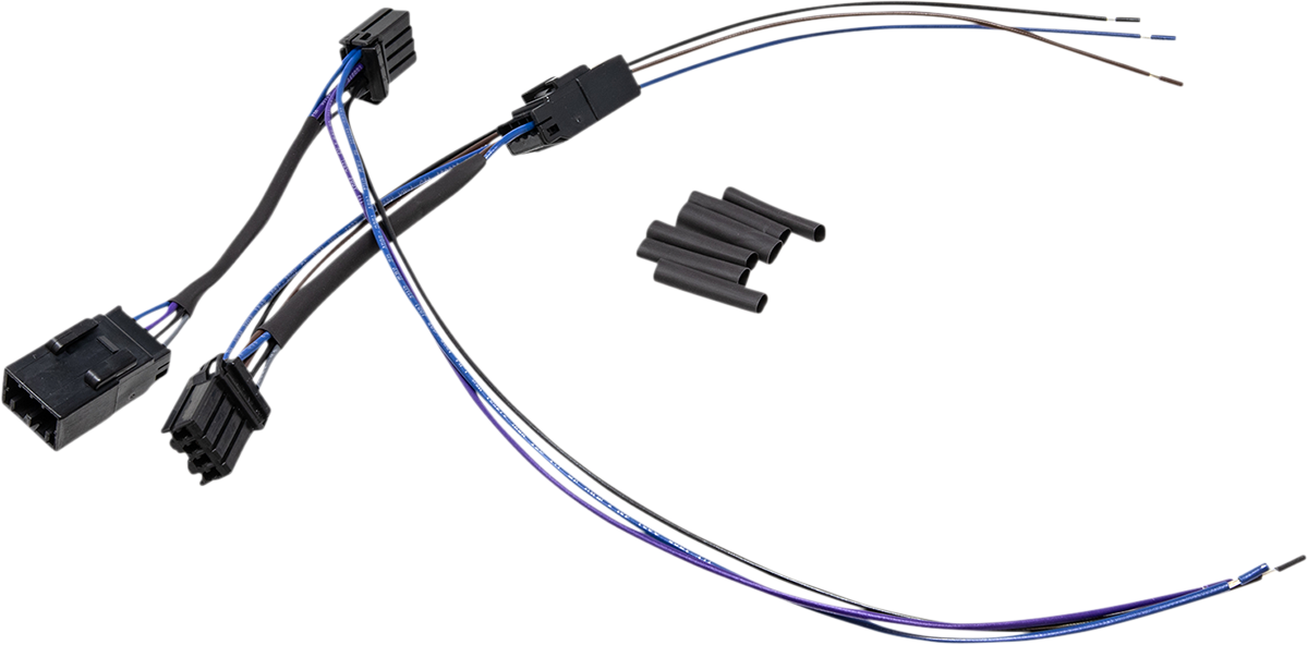 Namz Front Turn Signal Tap Harness 2006-2008 Harley Touring FLHX FLTR FLHRSE4