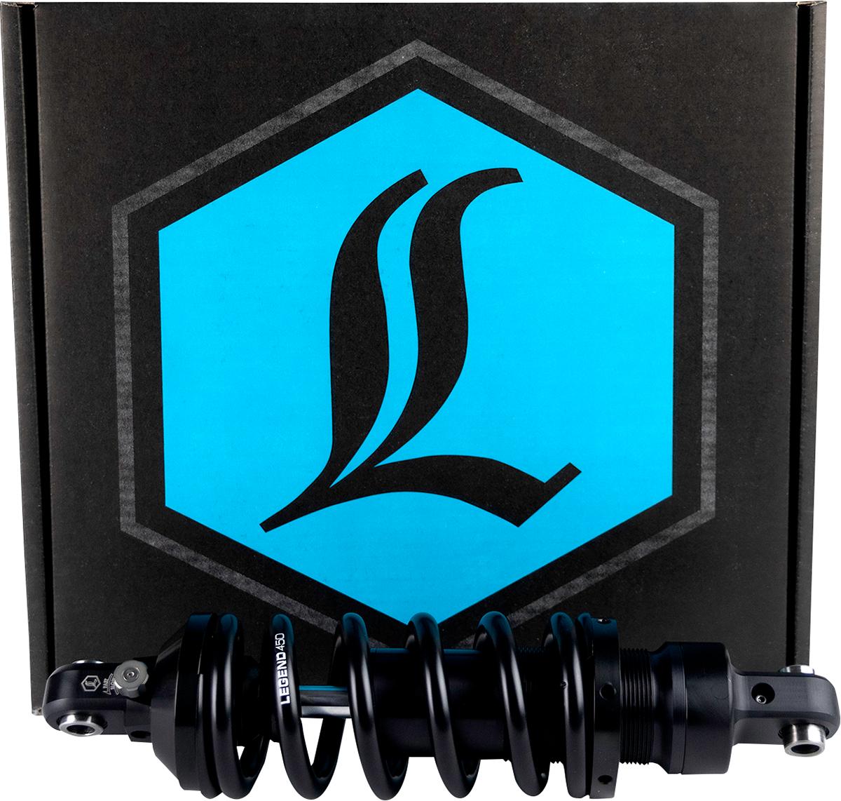 "Legend Revo A  Adjustable 13"" Heavy Duty Rear Shock 2015-2021 Harley Softail FLS"
