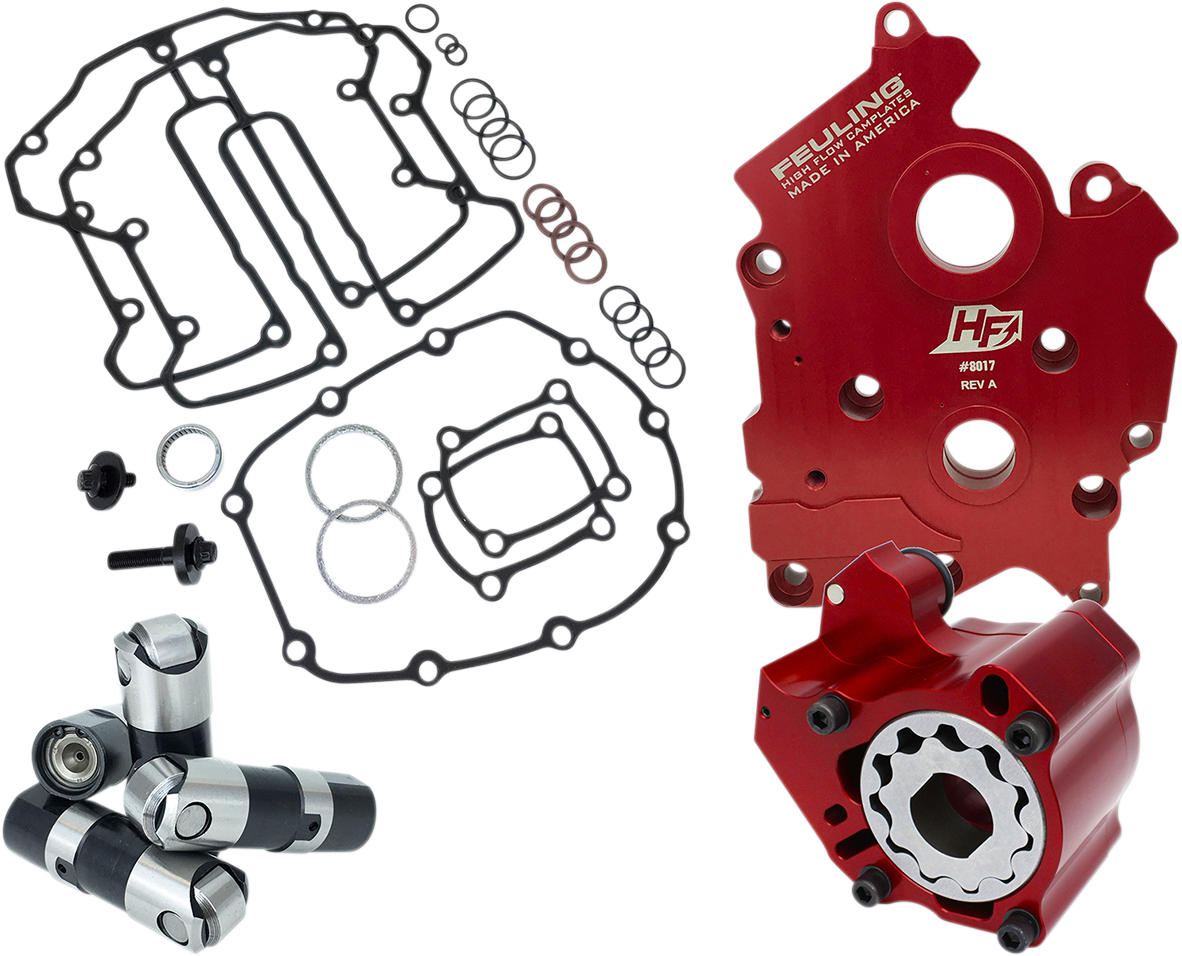 Feuling Race Series M8 Cam Chest Kit 2017-2021 Harley Softail Touring FLHR FLHX