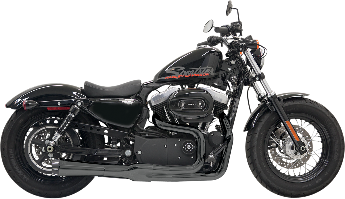 Bassani Road Rage II Mega Power 2-1 Exhaust 2004-2013 Harley Sportster XLX XLL