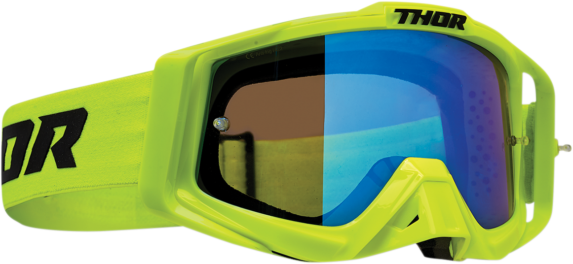 Thor Sniper Pro Unisex Flo Acid Offroad Riding Dirt Bike Racing MX Goggles