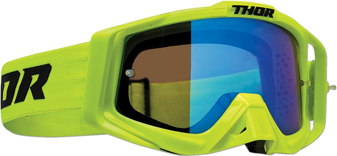 Thor Sniper Pro Unisex Flo Acid Offroad Riding Dirt Bike Racing MX Goggles
