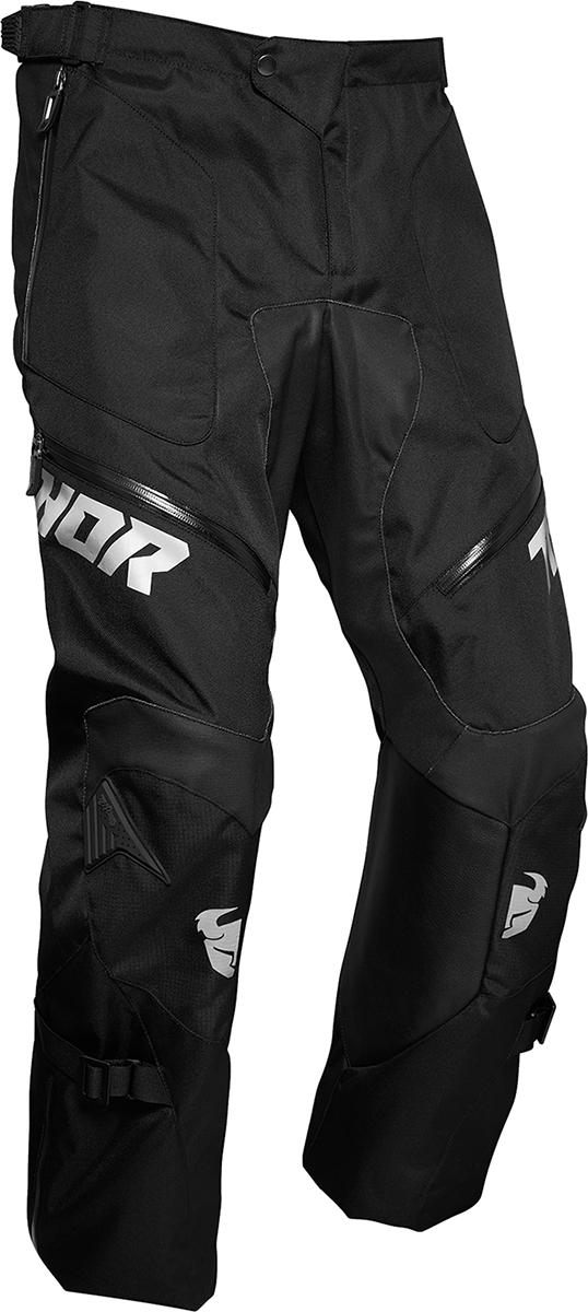 Thor Terrain Mens Textile Black Offroad Riding Dirt Bike MX Racing Pants