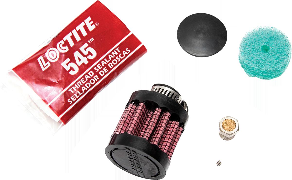 Feuling 3083 Motorcycle Vented Oil Dipstick Breather Rebuild Kit Harley