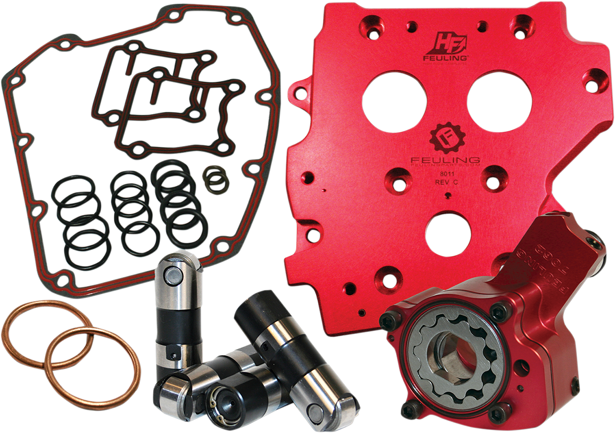 Feuling Race Series® Chain Drive Cam Chest Kit 1999-2006 Harley Softail Touring