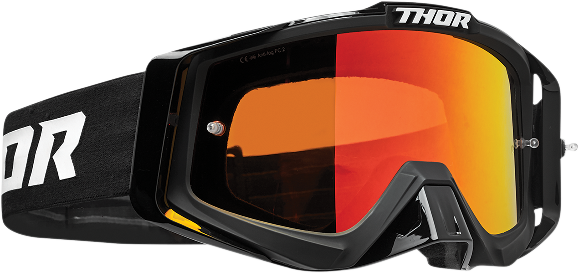 Thor Sniper Pro Unisex Black Offroad Riding Dirt Bike Racing MX Goggles