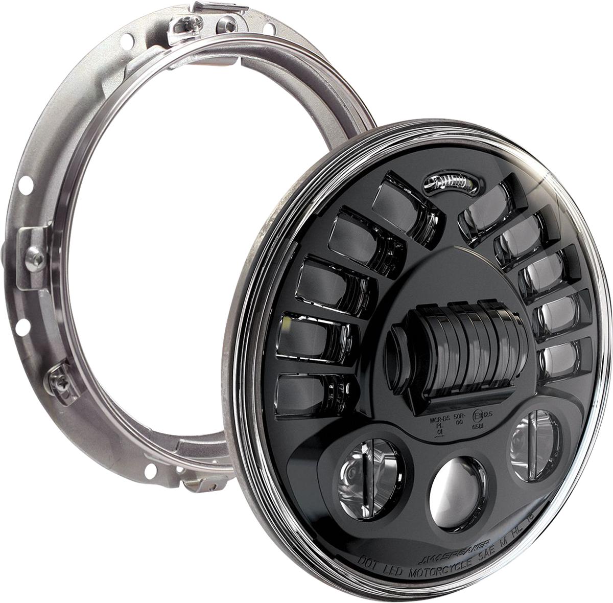 Custom Dynamics ProBEAM Adaptive Motorcycle Headlight 1994-2013 Harley Touring