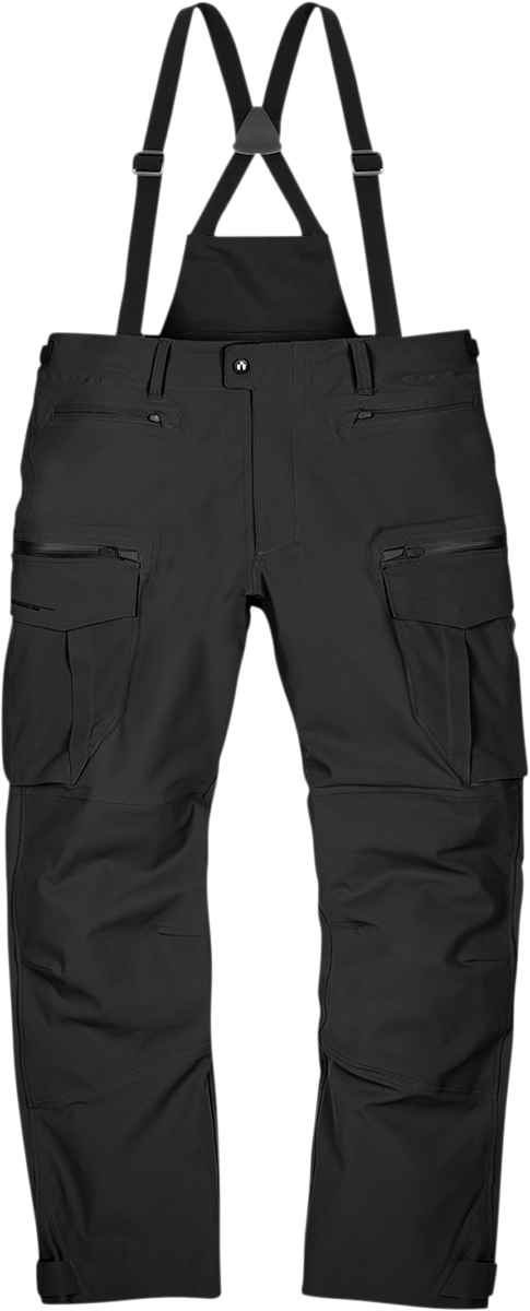 Icon Stormhawk Mens Textile Black Motorcycle Riding Street Racing Pants