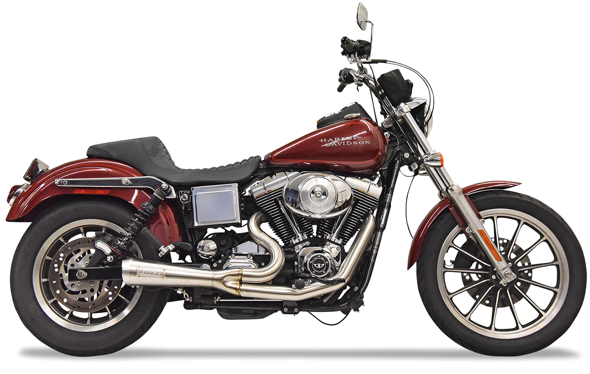 Bassani Ripper 2-1 Stainless Steel Exhaust 1991-2005 Harley Dyna FXDL FXDB