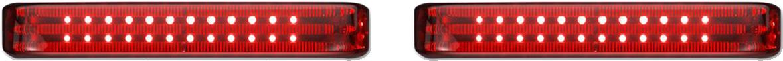 Custom Dynamics Sequential Low Profile LED Saddlebag Lights 10-13 Harley Touring