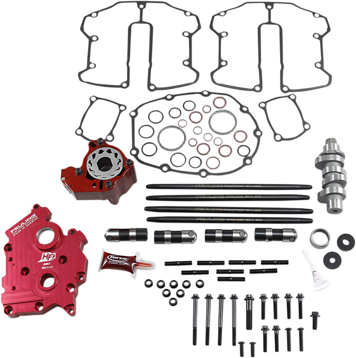 Feuling Race Series 592 Oil Cooled Cam Kit 2017-2020 Harley Softail Touring FLHX