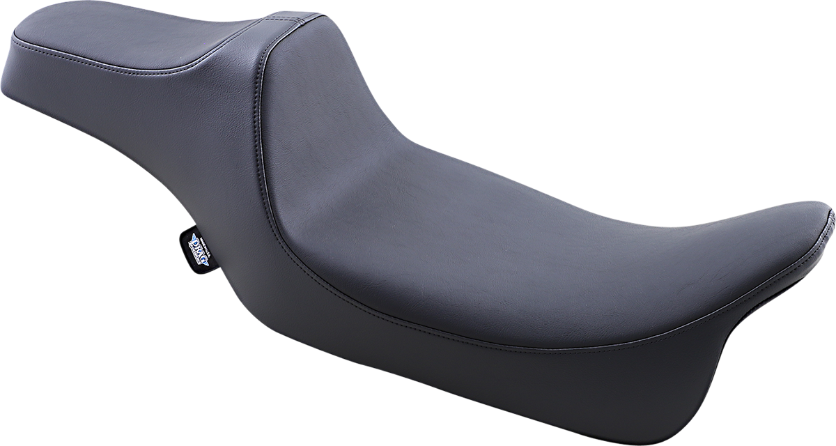 Drag Specialties Predator 3 Extended Reach Motorcycle Seat 08-20 Harley Touring