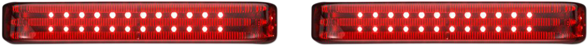 Custom Dynamics Sequential Low Profile LED Saddlebag Lights 10-13 CVO Touring